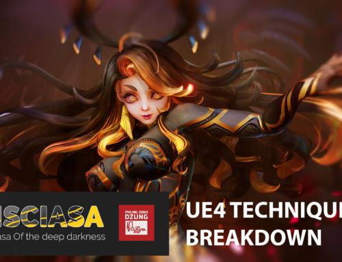 Pisciasa Breakdown – Stylized Character Production Techniques in UE4